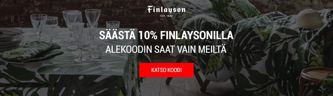 Finlayson alennuskoodi