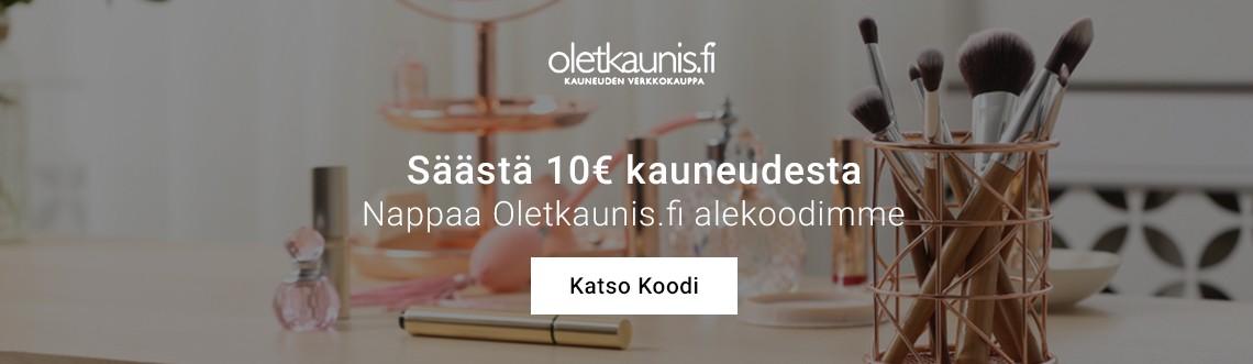Oletkaunis.fi alekoodi