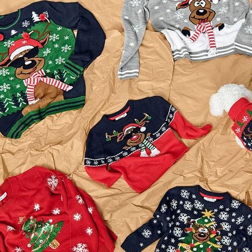 Ellos christmas sweaters