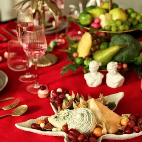 Jotex christmas setting dinner table